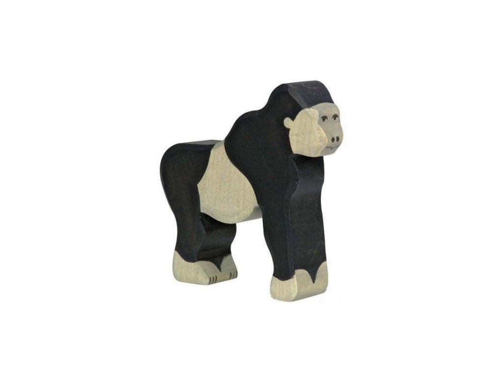 Gorila – dřevěné zvířátko