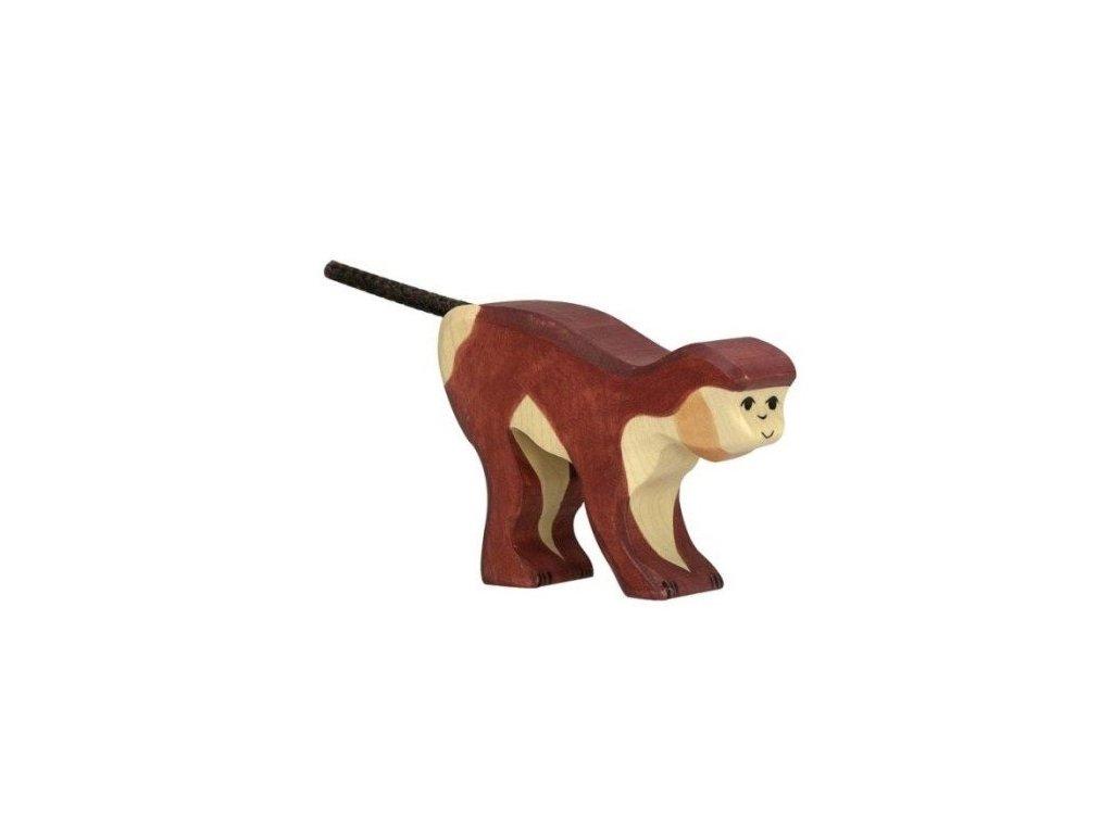 Opice – dřevěné zvířátko