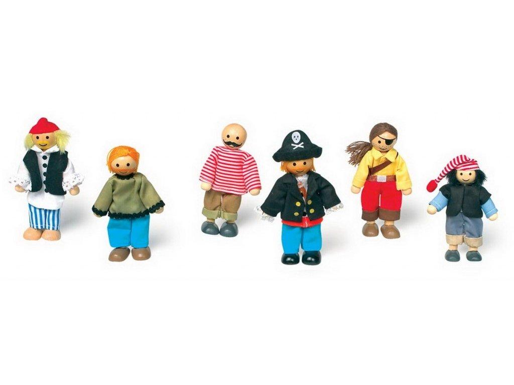 Piráti - ohební panáčci