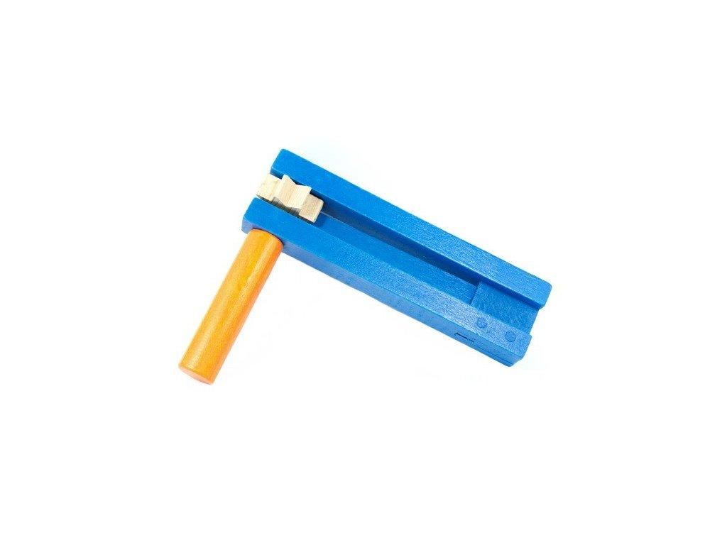 Řehtačka modrooranžová