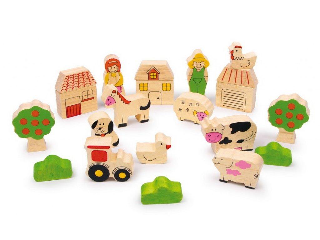 Stavební kostky - Farma