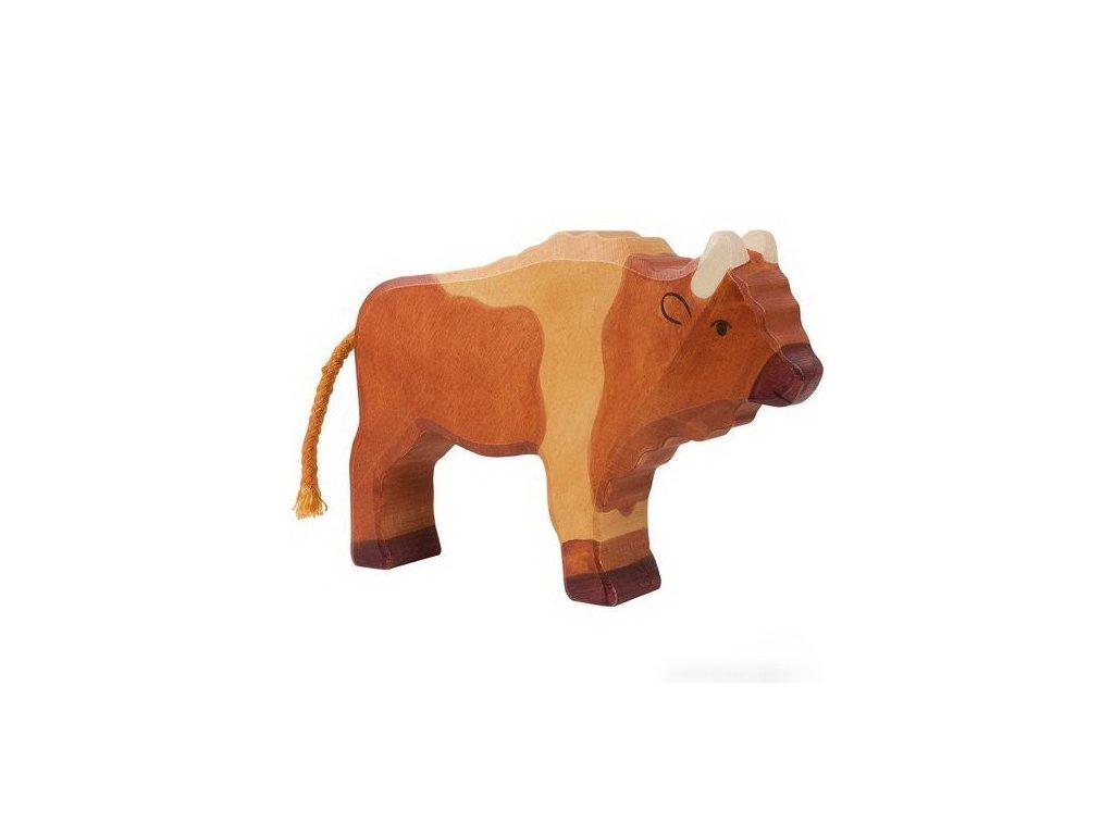 Bizon velký – zvířátko ze dřeva