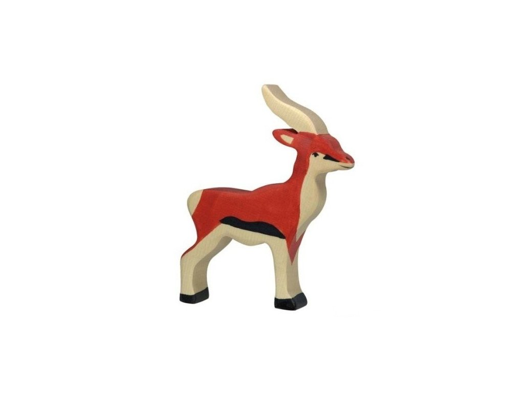 Antilopa – dřevěné zvířátko