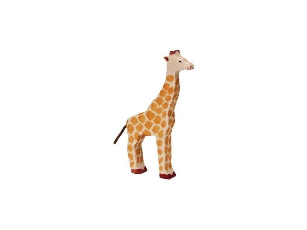Žirafa – zvíře ze dřeva