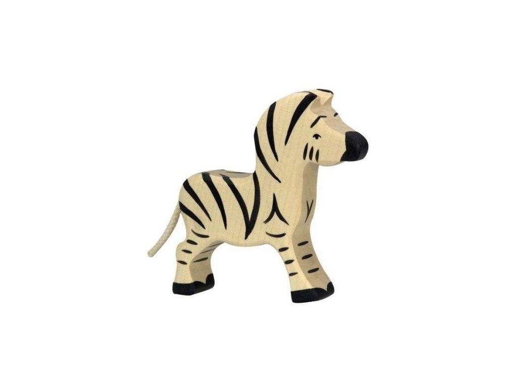 Zebra malá – dřevěné zvířátko