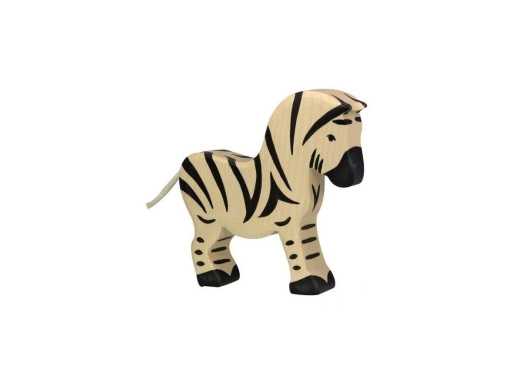 Zebra – dřevěné zvířátko