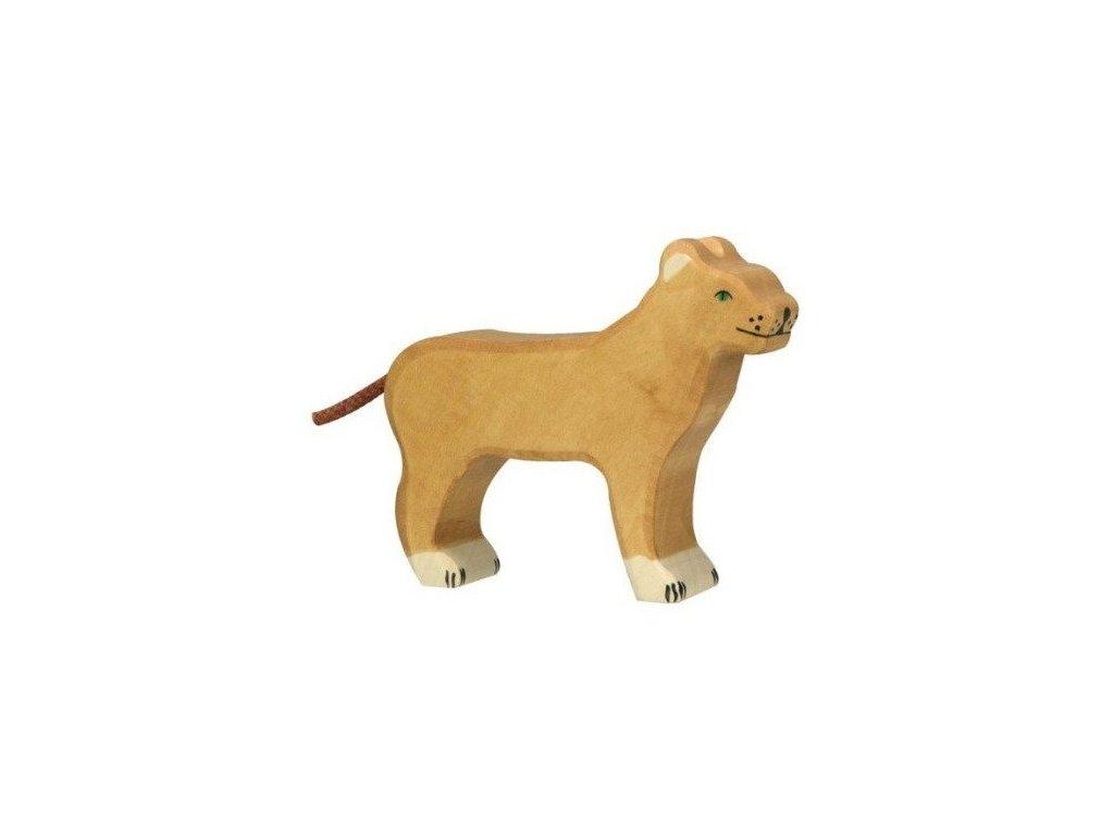 Lvice – dřevěné zvířátko