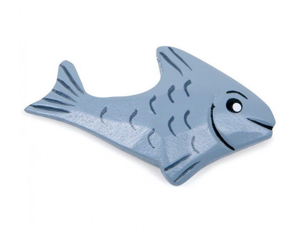 Rybička - dřevěná