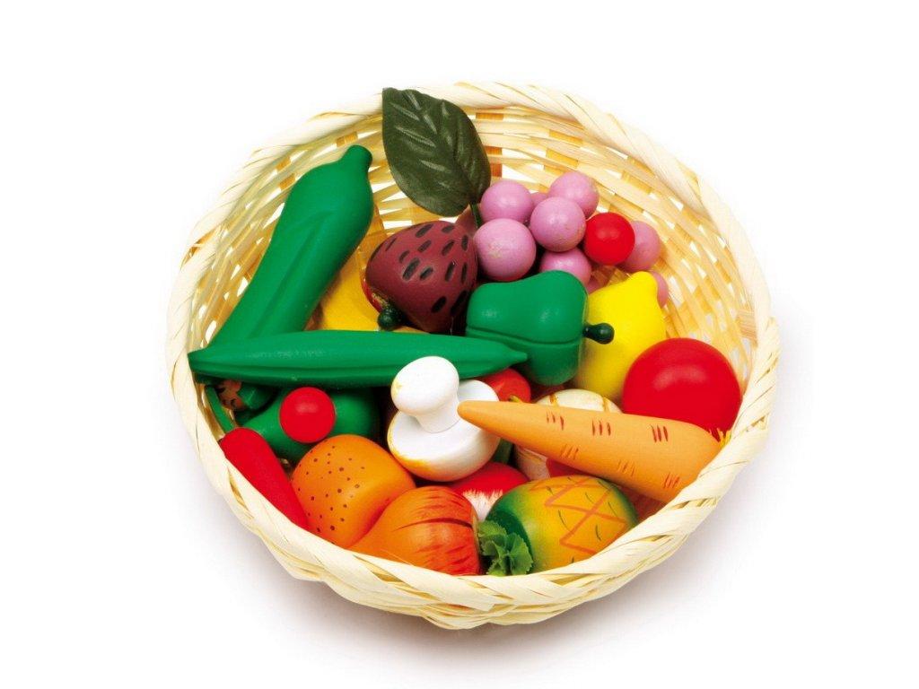 Košík se zeleninou