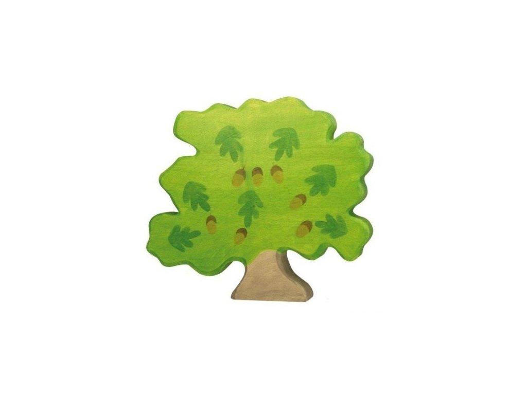 Dub – vyřezávaná dřevěná hračka