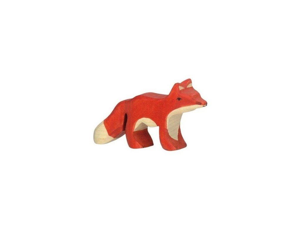 Liška malá – dřevěné zvířátko