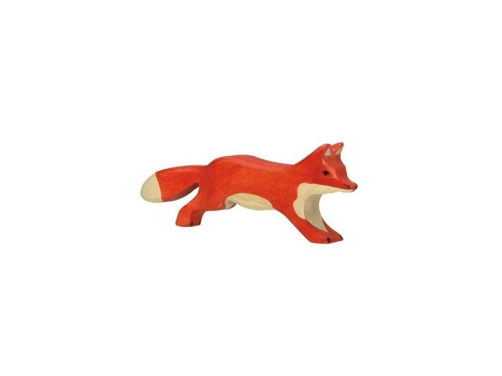 Liška běžící – dřevěné zvířátko