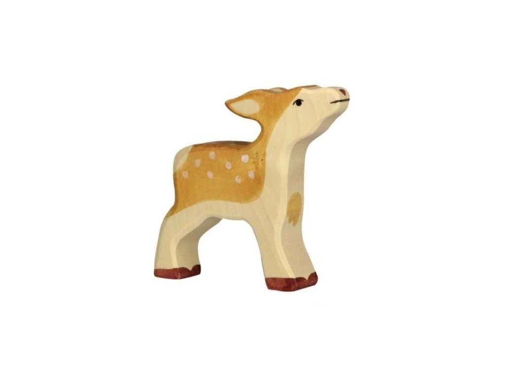 Srnče – dřevěné zvířátko