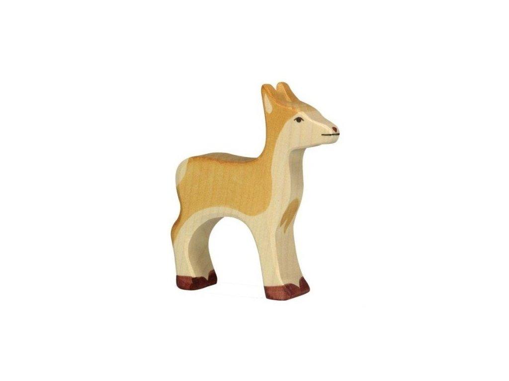 Srnka – dřevěné zvířátko