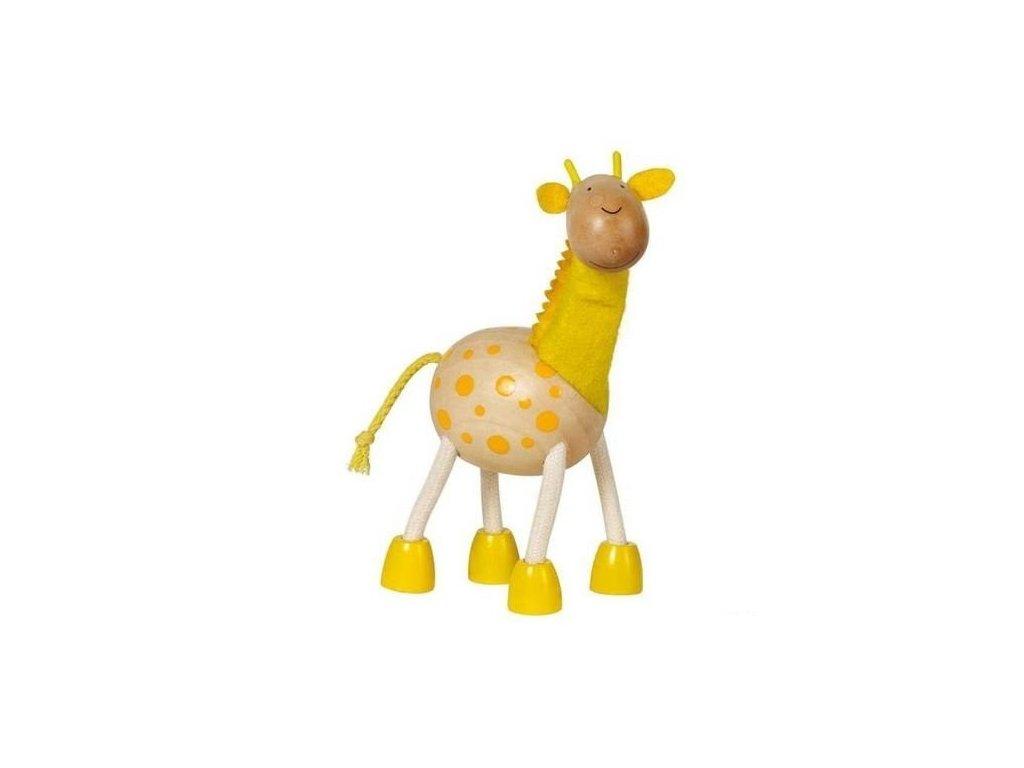 Žirafa - dřevěné zvířátko pro děti (doprodej)