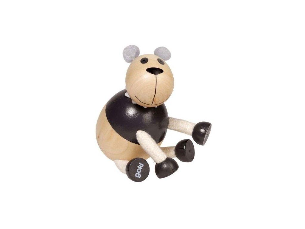 Panda - dřevěné zvířátko pro děti (doprodej)