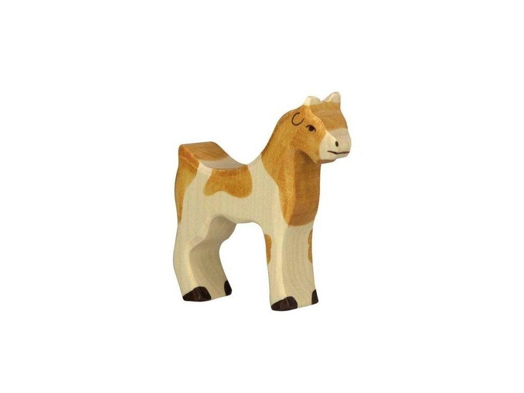 Koza – domácí zvíře ze dřeva