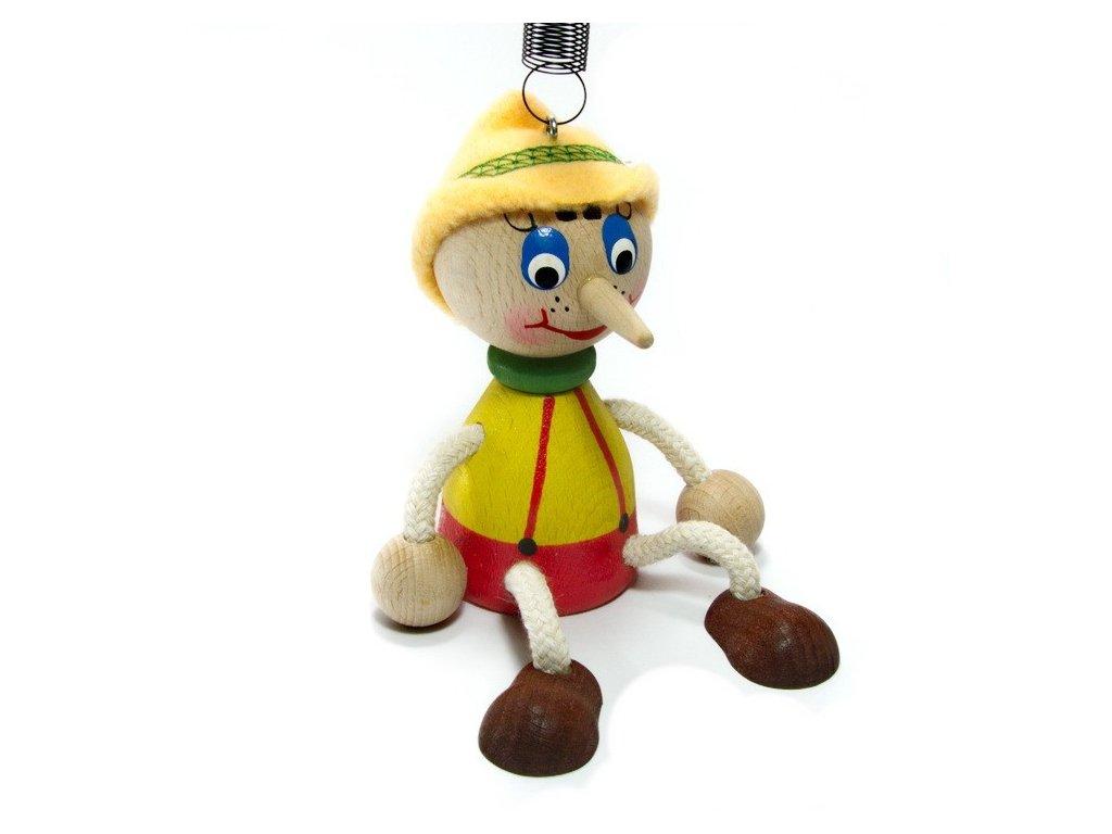 Pinocchio na pružině