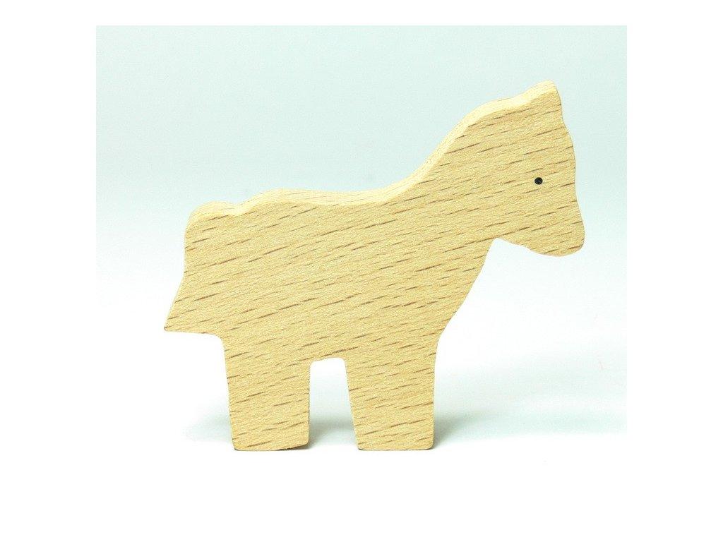 Kůň - zvířátko k vymalování