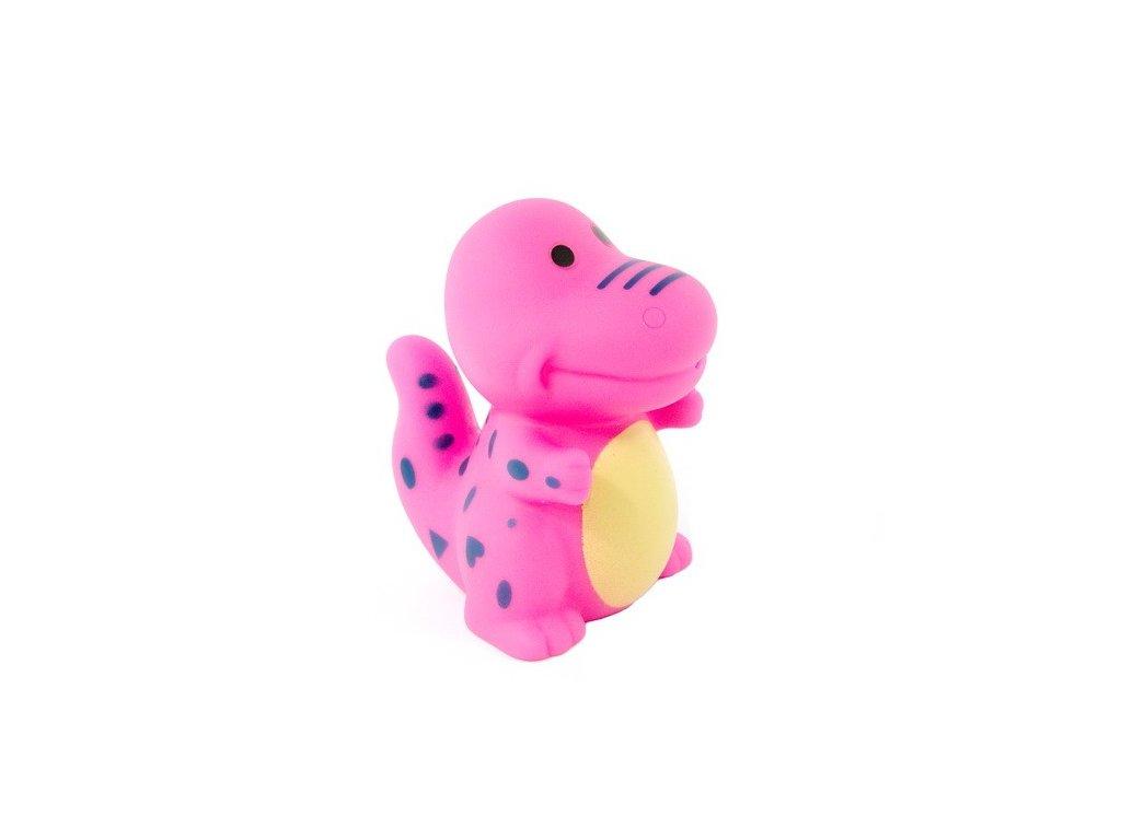 Dinosaurus do vody - růžový