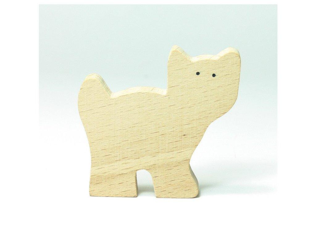 Kočička - zvířátko k vymalování