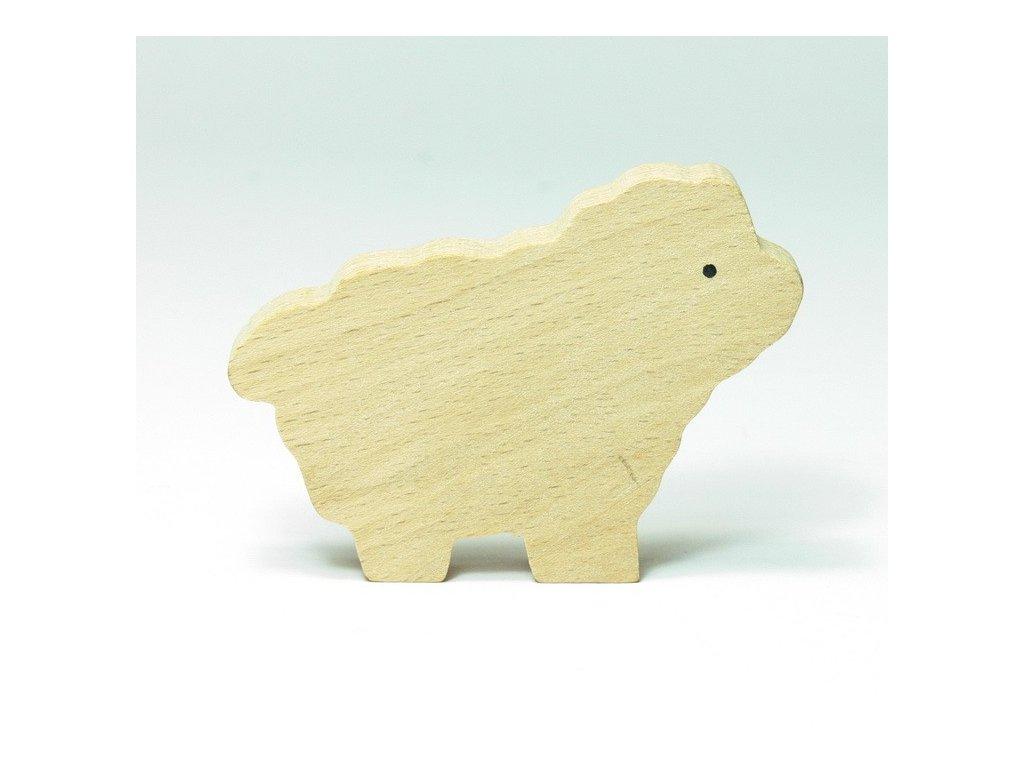 Ovečka - zvířátko k vymalování