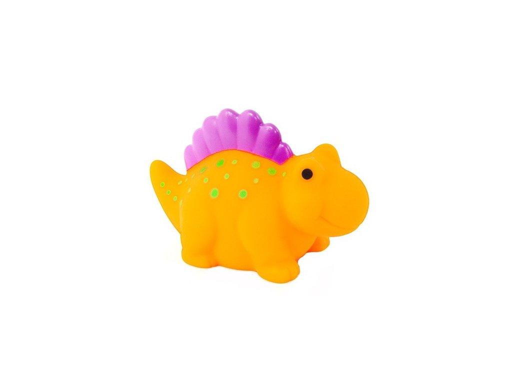 Dinosaurus do vody - oranžový