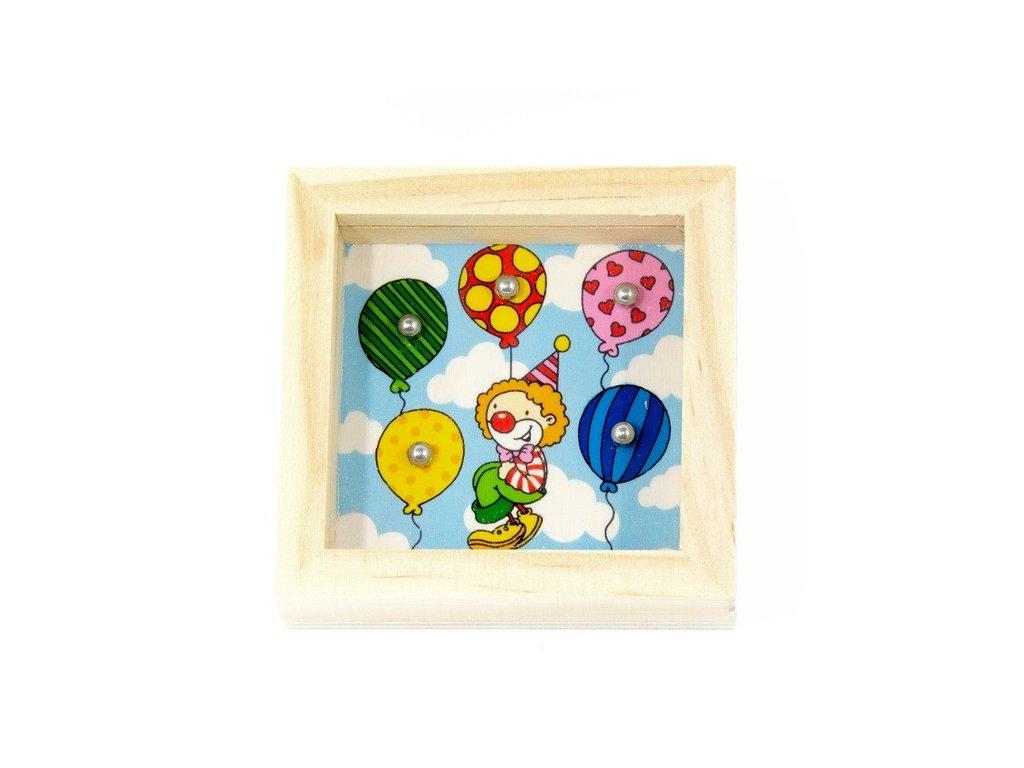 Balancovník - Klaun s balónky
