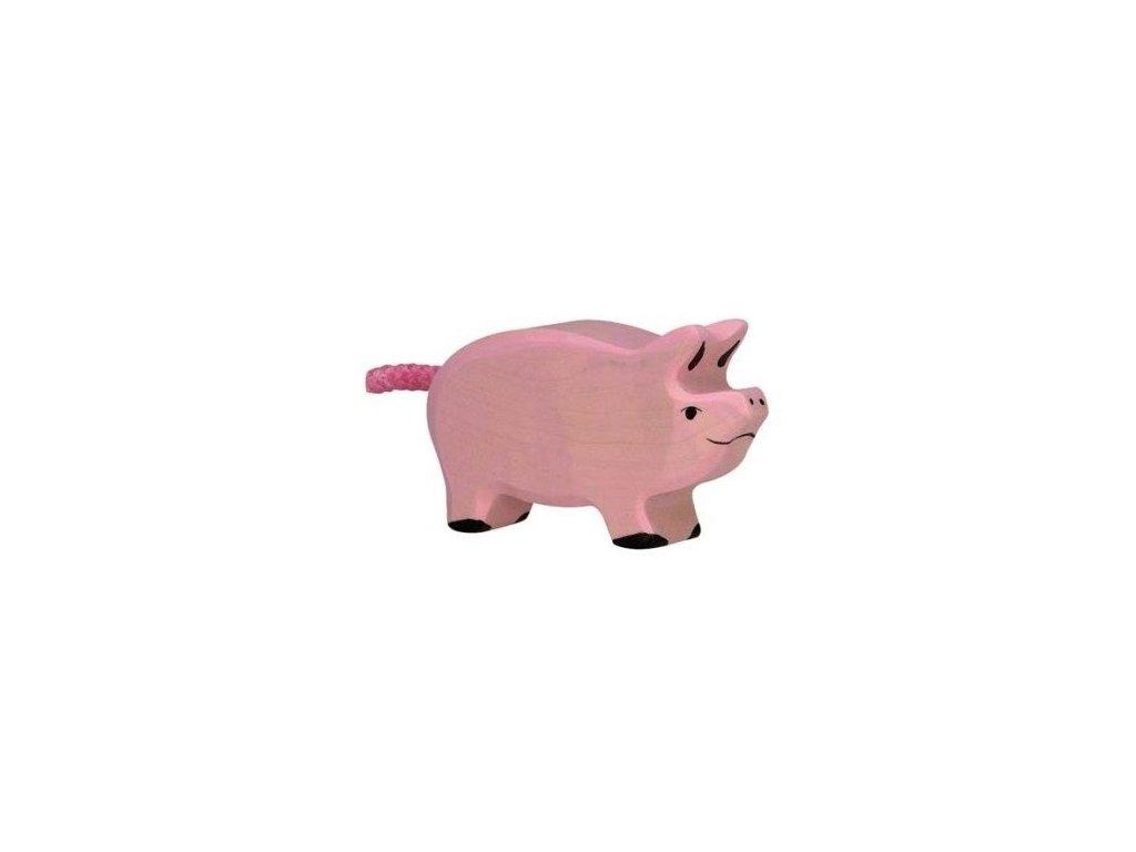 Selátko – dřevěné zvířátko