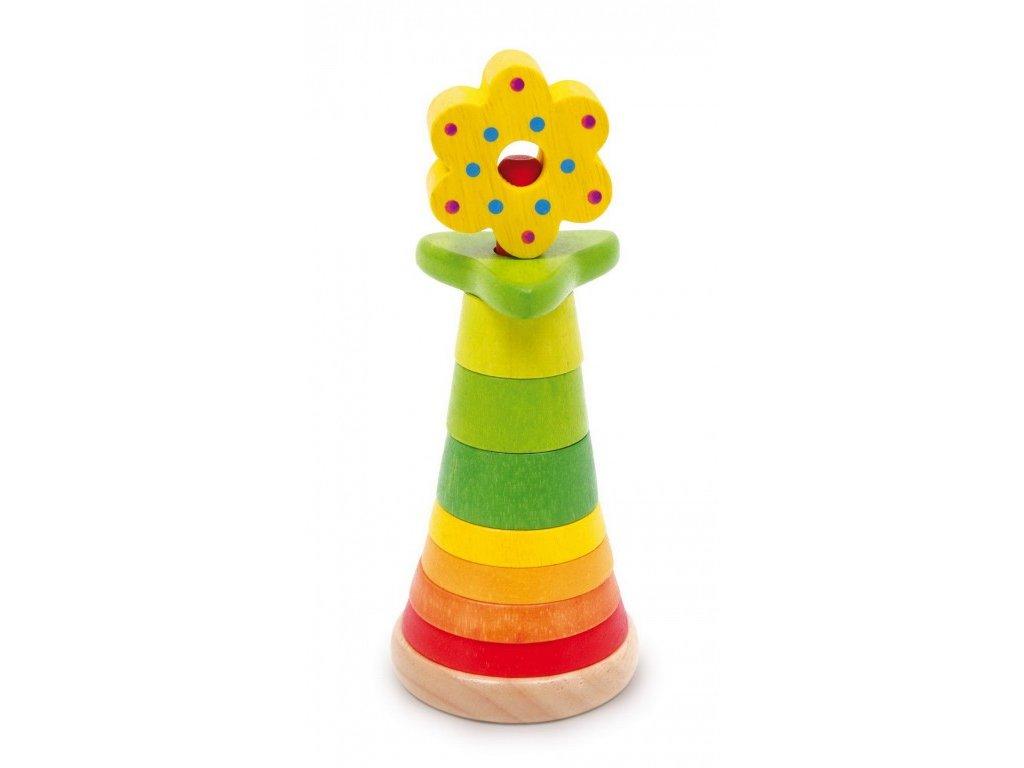 Skládací pyramida - Květina