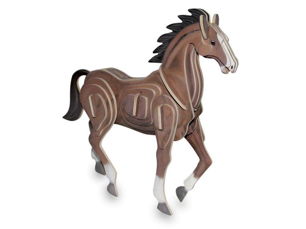 Kůň - 3D puzzle (doprodej)