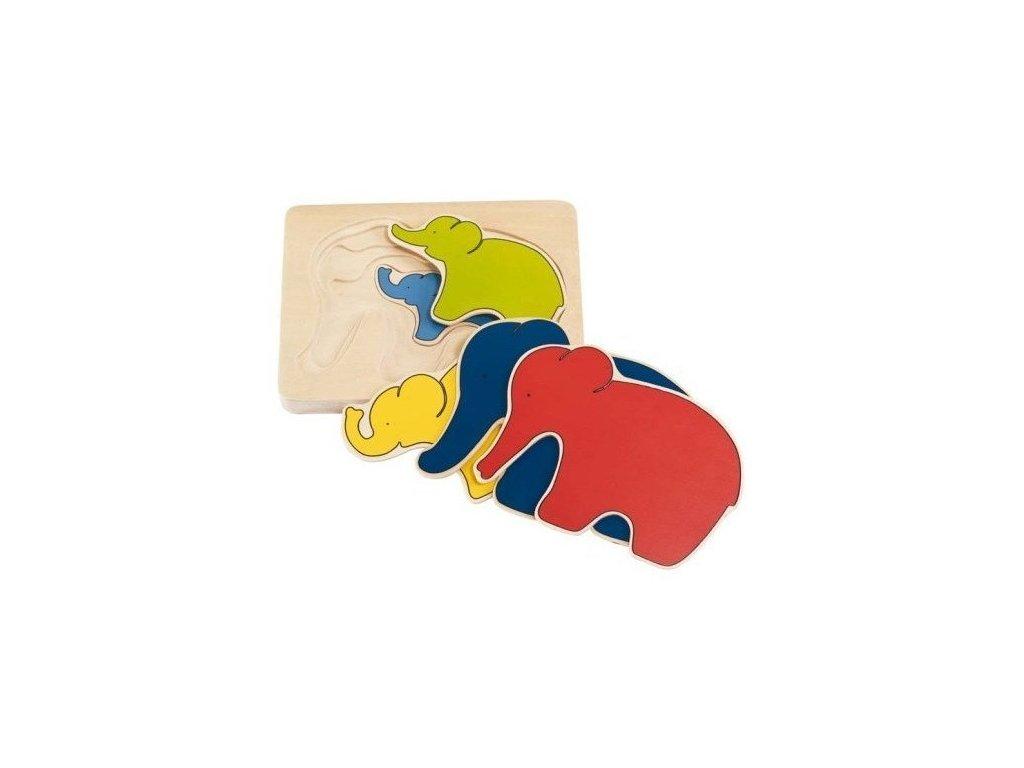 Puzzle - Slon