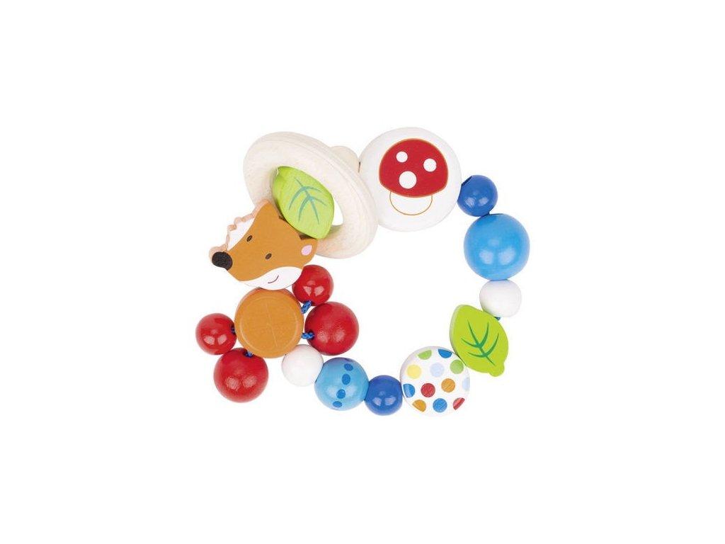 Liška – elastický kroužek pro miminka