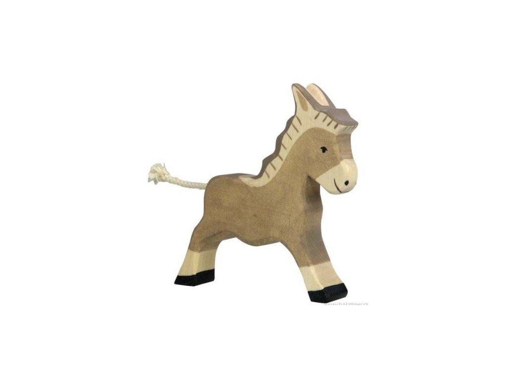 Oslík běžící – dřevěné zvířátko