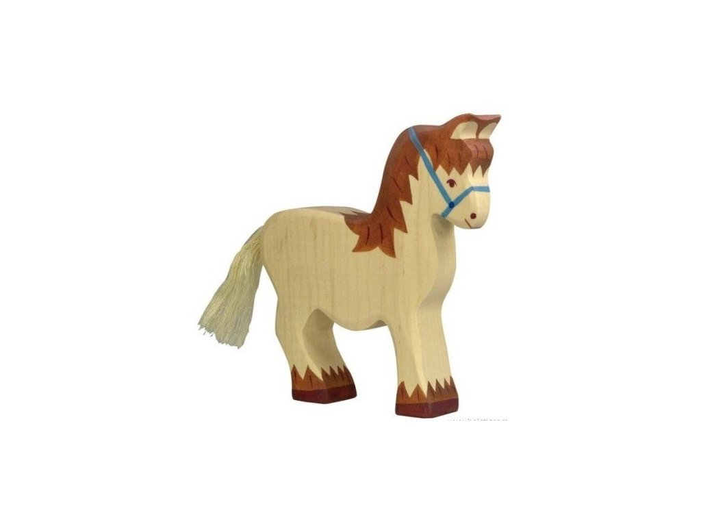 Tažný kůň – zvířátko ze dřeva