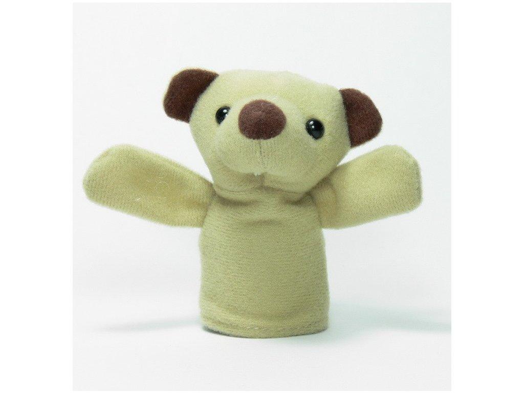 027 - Medvídek - prstový maňásek