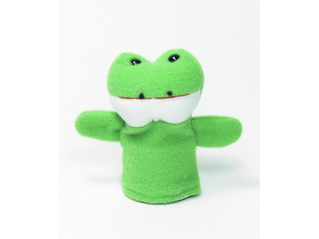 027 - Žabka - prstový maňásek