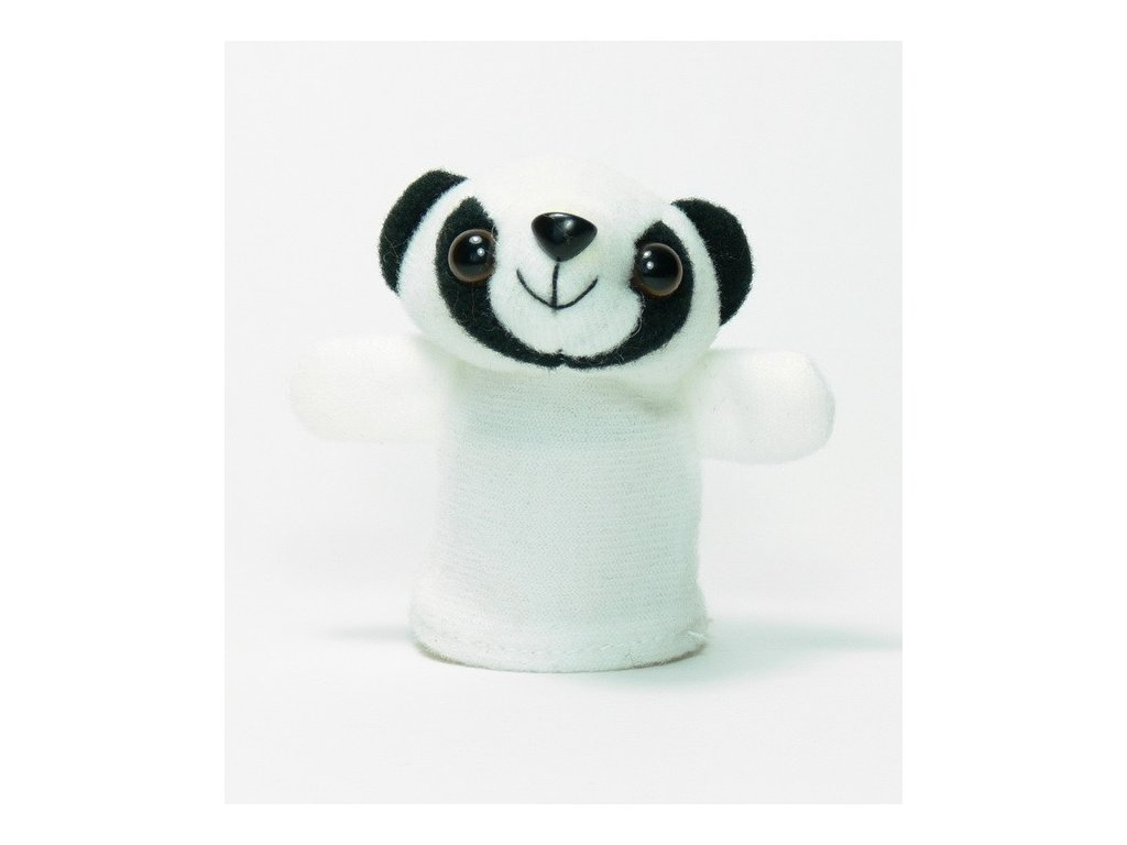 027 - Panda - prstový maňásek