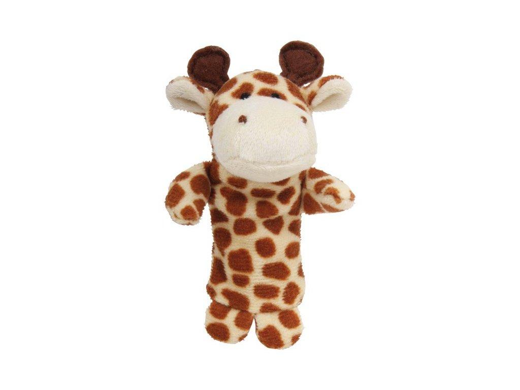 024 - Žirafa - prstový maňásek