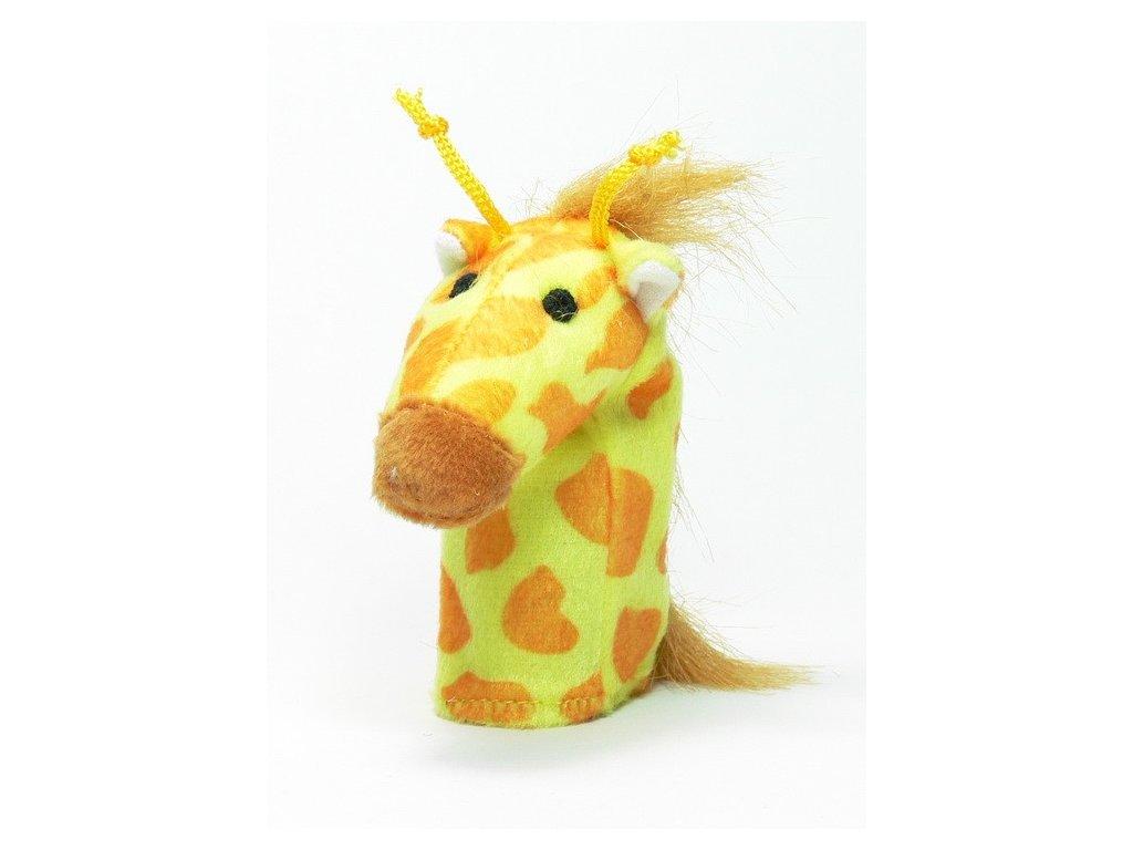 026 - Žirafa - prstový maňásek
