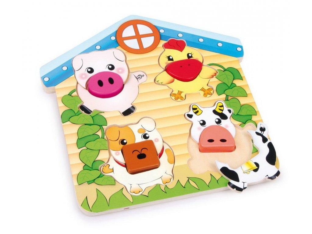 Třídící puzzle Zvířata