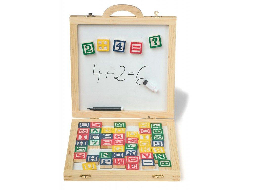 Magnetická písmena a čísla - Logi-hračky f0c5efffb21