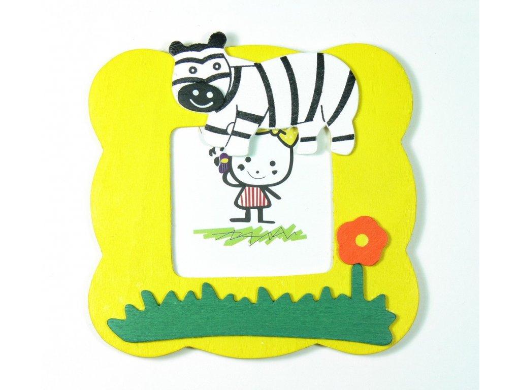 029 - Zebra - rámeček na foto