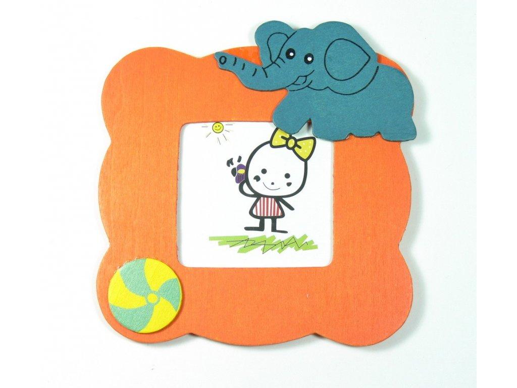 029 - Slon - rámeček na foto