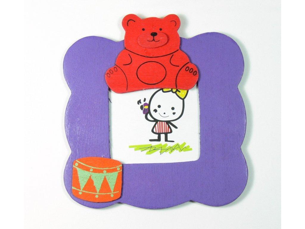 029 - Medvídek - rámeček na foto