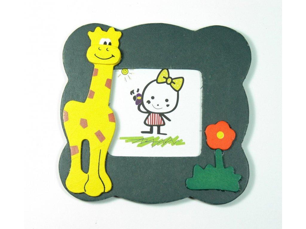 029 - Žirafa - rámeček na foto