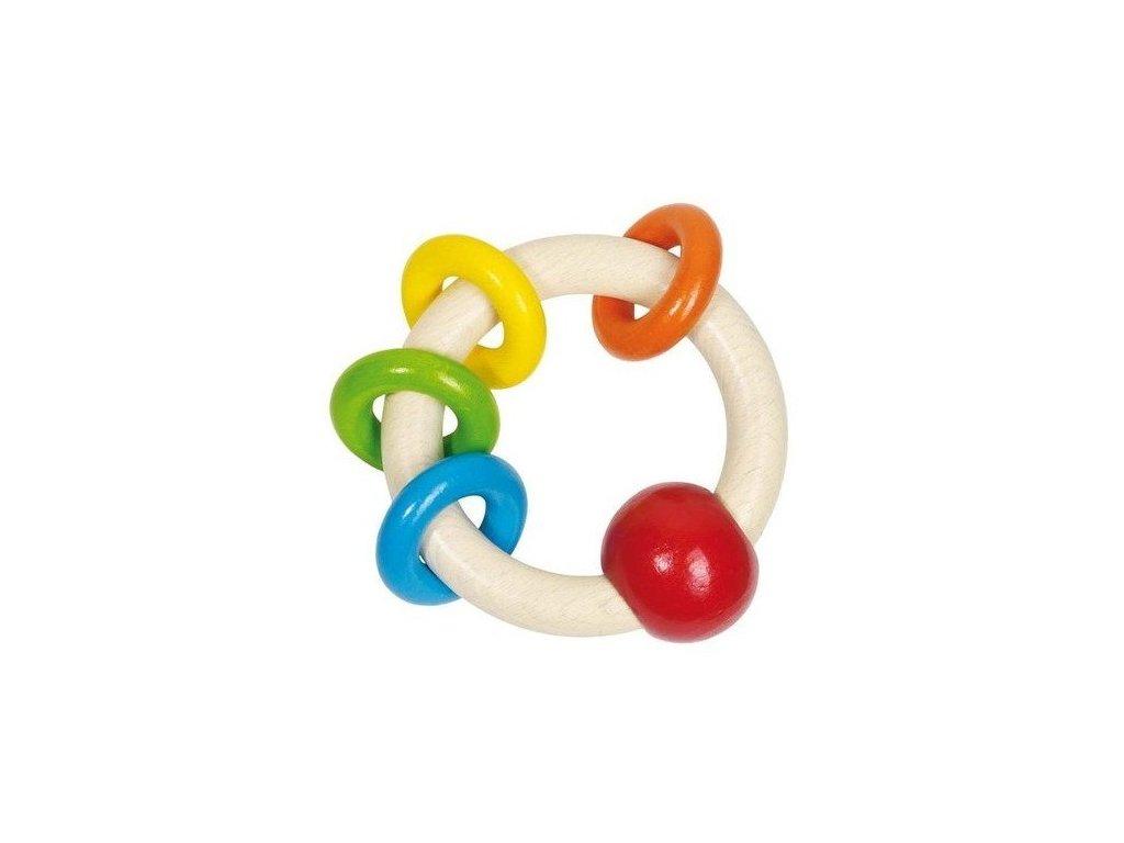 Duha – barevný kroužek s malými kroužky