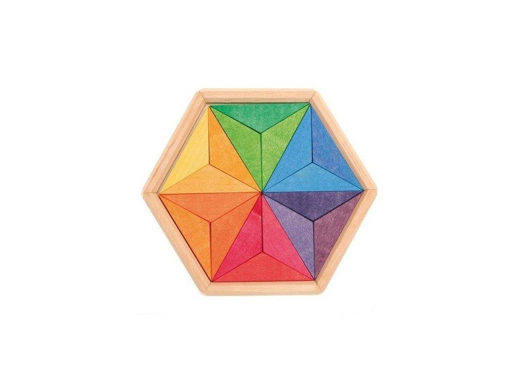 Mozaika hvězda - 18 dílů