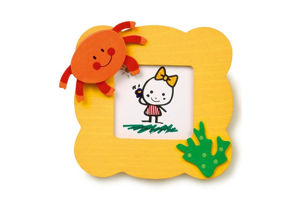 028 - Žlutý rámeček na foto