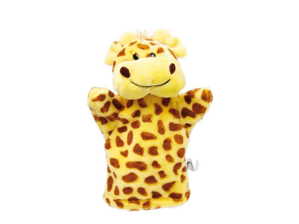 025 - Žirafa - maňásek na ruku